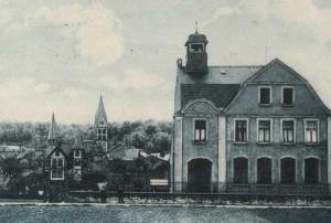 1907,  das Gebäude kurz nach der Errichtung